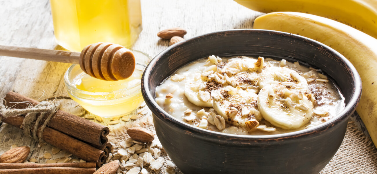 Porridge: avena e frutta