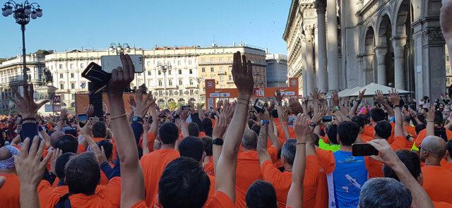 35.000 runner invadono Milano