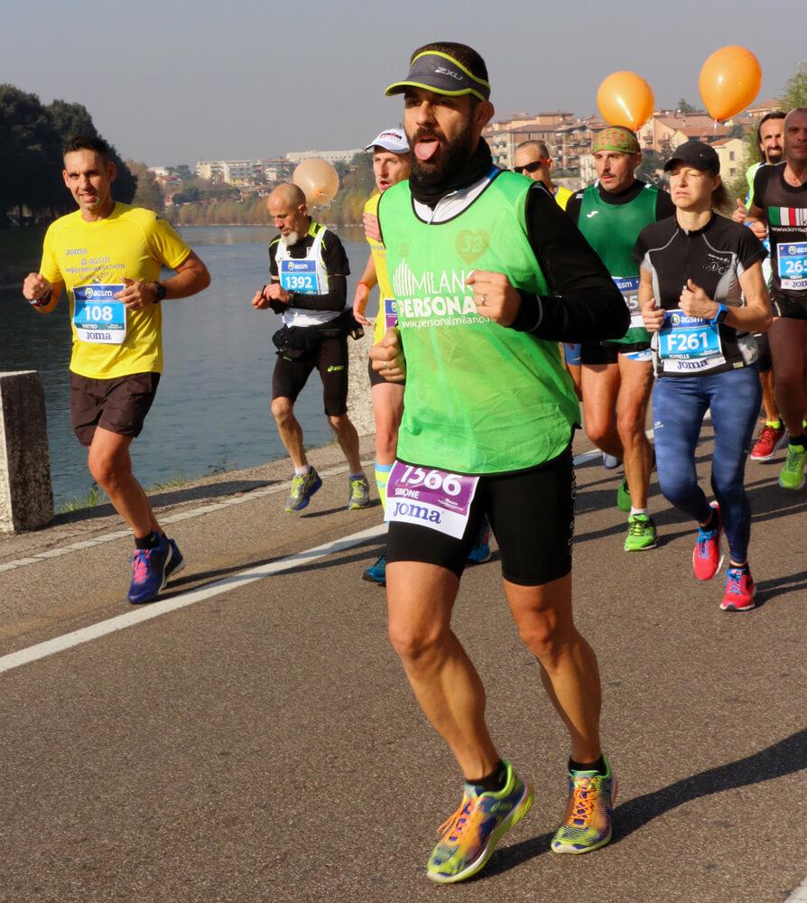 Verona Marathon 2017 - Il muro del maratoneta - Vun Du Tri
