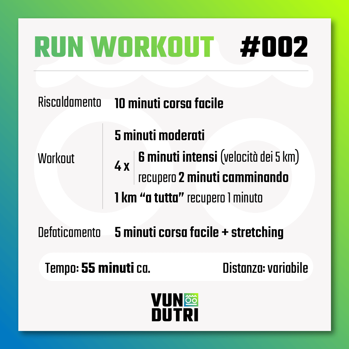 Run Workout 002